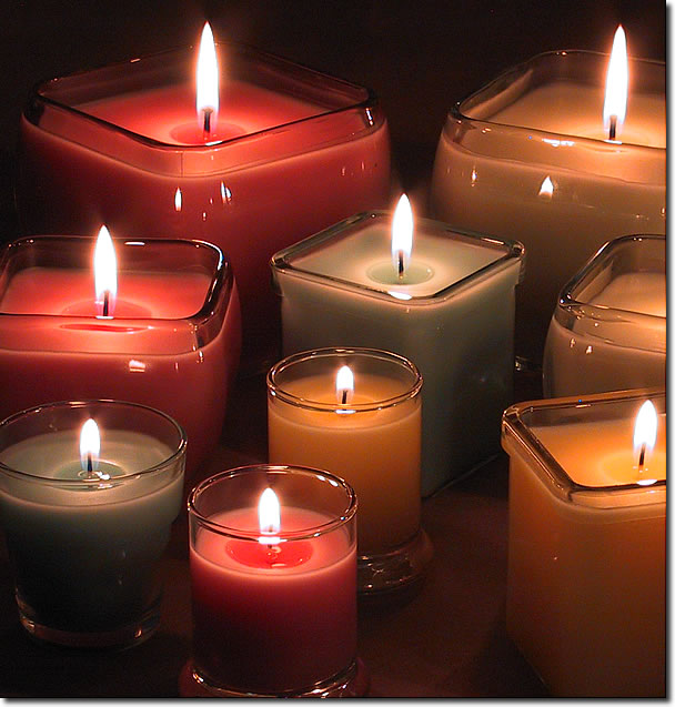 Image result for Container or Filled Candles