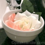 Single-Use Flower Petal Soaps
