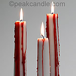 How to make Bleeding Taper Candles