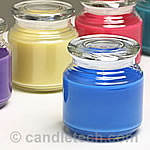 Calculate Wax Weight for a Container Candle
