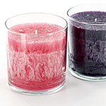 Palm Wax Container Candles