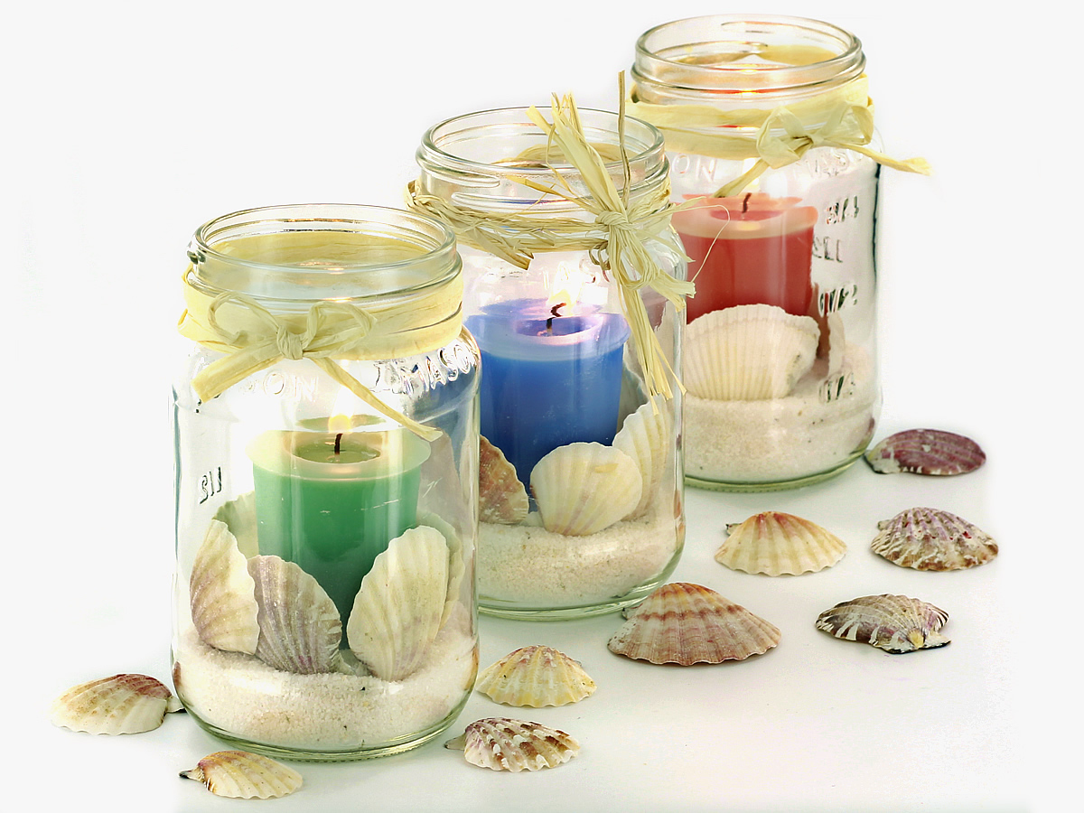 Diy beach themed centerpieces candle making techniques