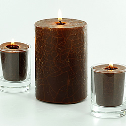 How to make Crackle Candles